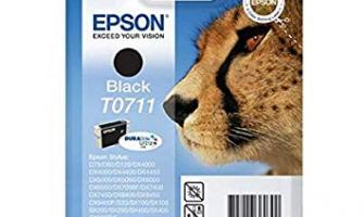 missing cartridgesv EPSON T0711