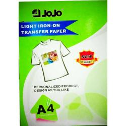 light iron-on transfer paper jojo