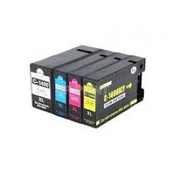 Compatible Canon CLI-1400XL black and color ink cartridge