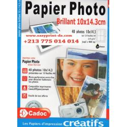 papier photo brillant, 13X18 Cm