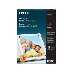 Premium Photo Paper Glossy, Borderless, 20 sheets (S041464)