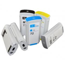 HP 72 Black and Colors Compatible Ink Cartridge Algiers .
