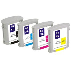HP 88 Black and Colors Compatible Ink Cartridge Algiers .