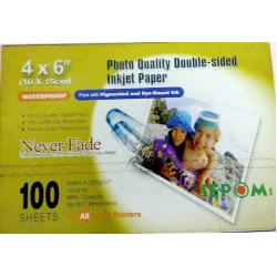 paper photo   double face A6  sepoms   Matt waterproof